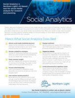 Social Analytics Flyer