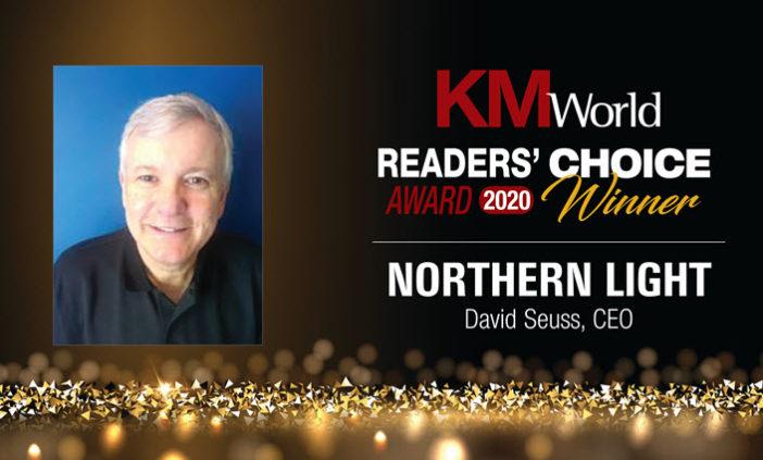 SinglePoint Wins 2020 KMWorld Readers Choice Award