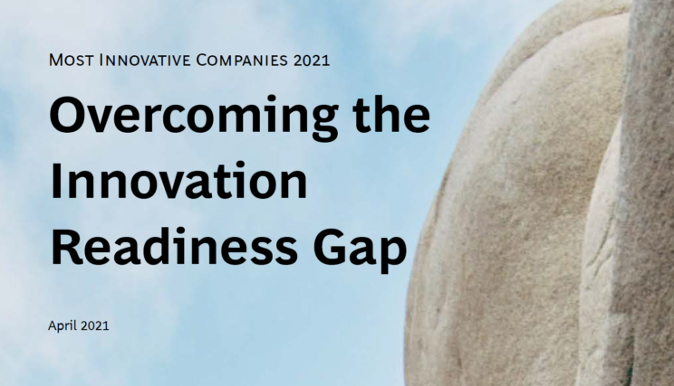 Front Cover Of Overcoming The Innovation Readiness Gap